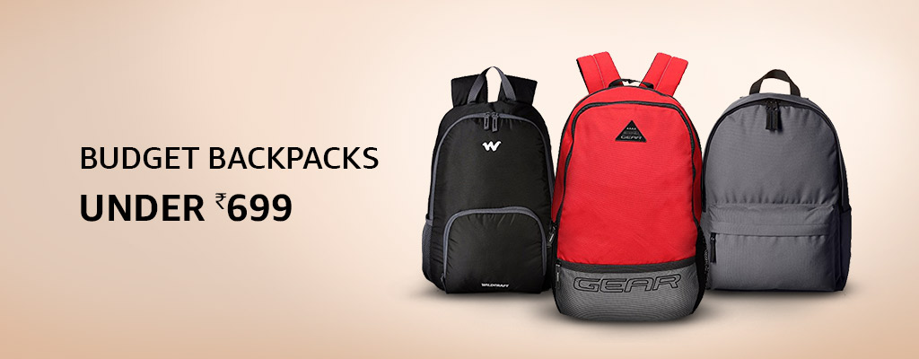 Budget backpacks: Under Rs.699