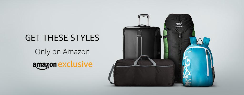 Bags & Luggage- Amazon Exclusives