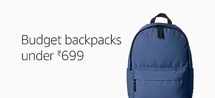 Under Rs.699: Budget backpacks