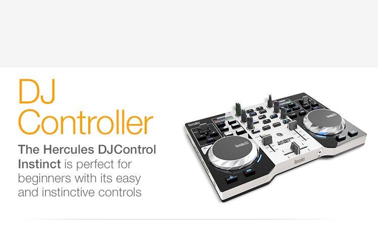 DJ Controller Hercules DJControl Instinct