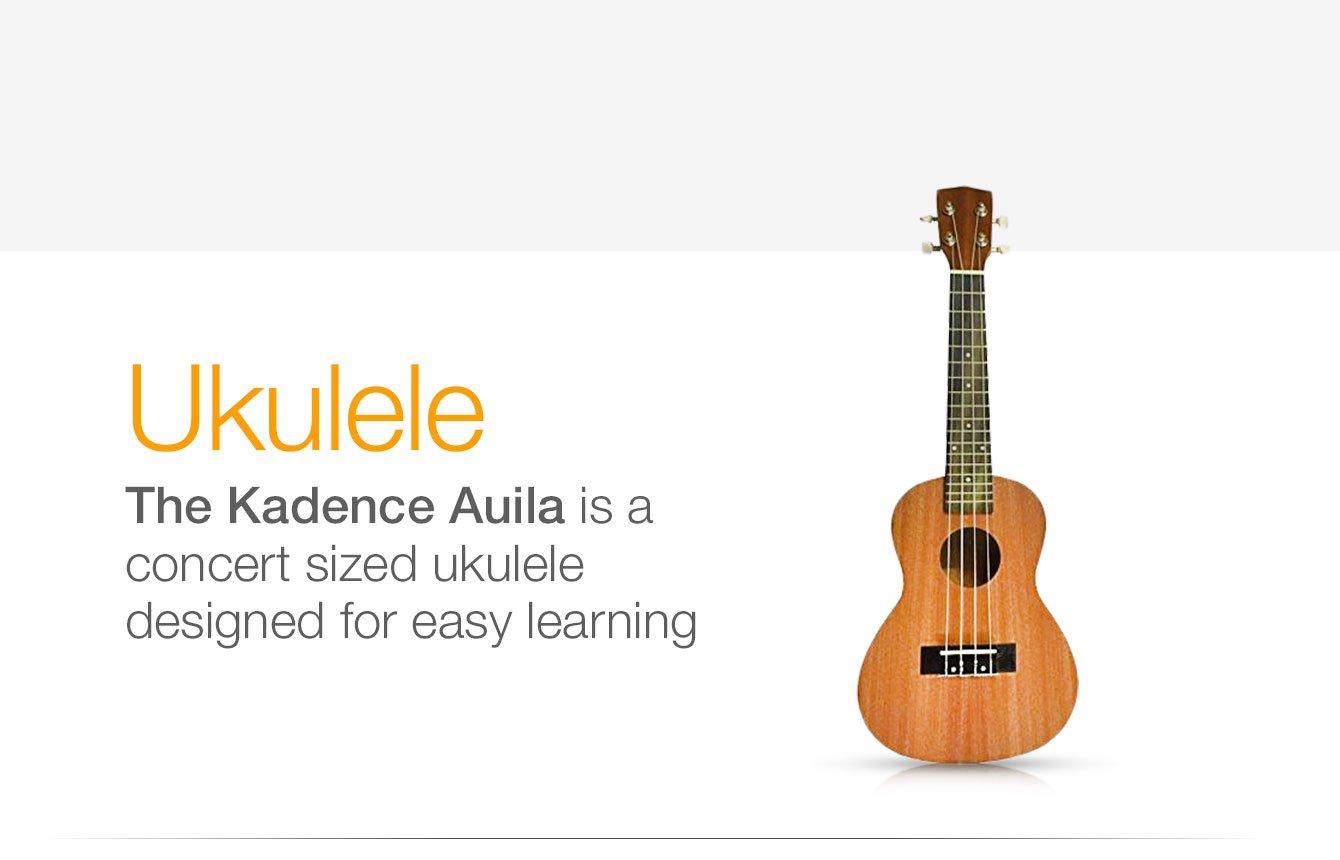KadenceKAD-UKU 4 Auila 24 Concert Sized Ukulele