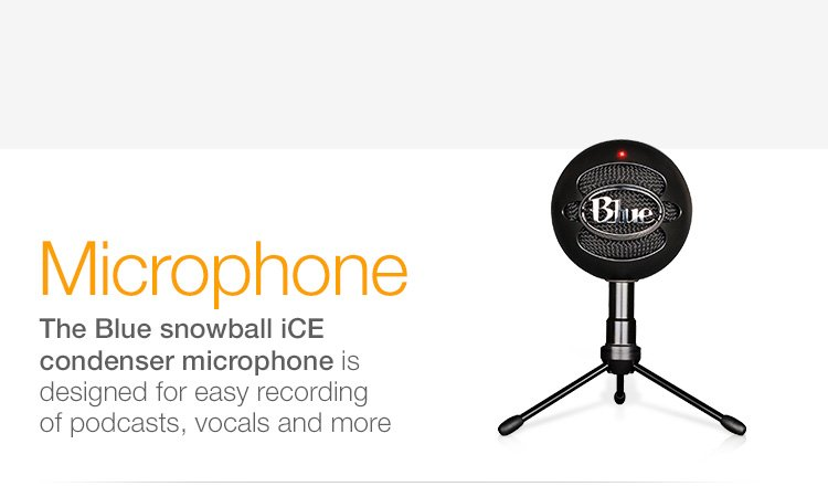 Microphone Blue Snowball iCE condenser microphone
