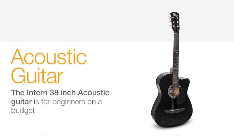 Intern 38 Inch Acoustic Guitar