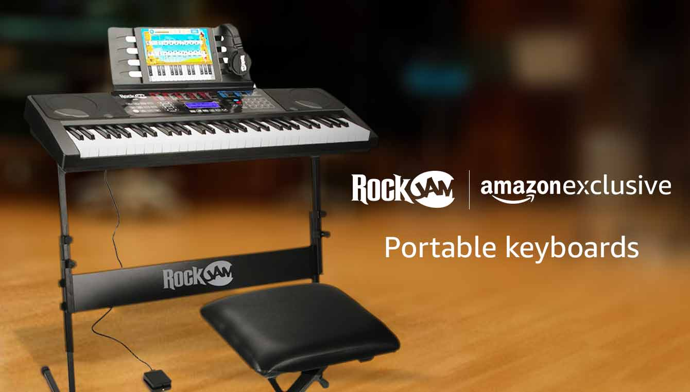 Rockjam keyboards