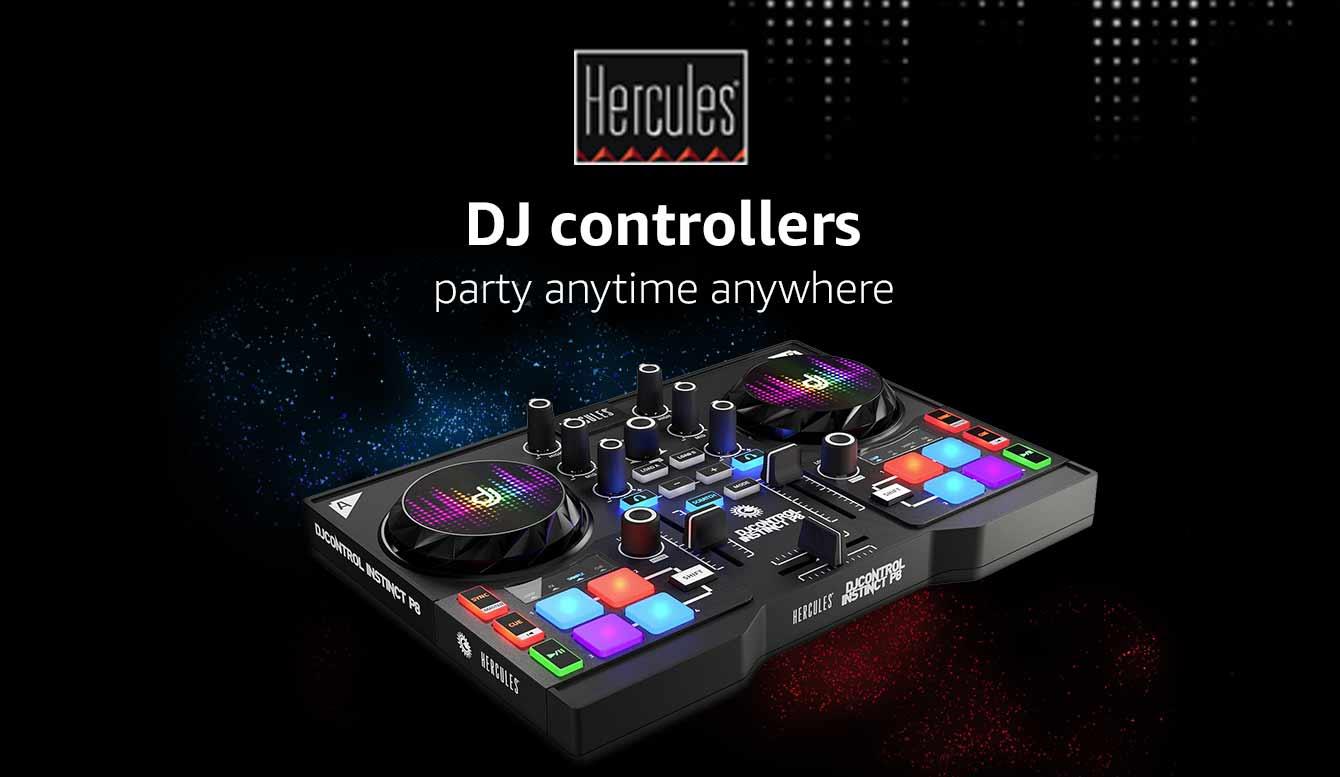 Hercules DJ controller