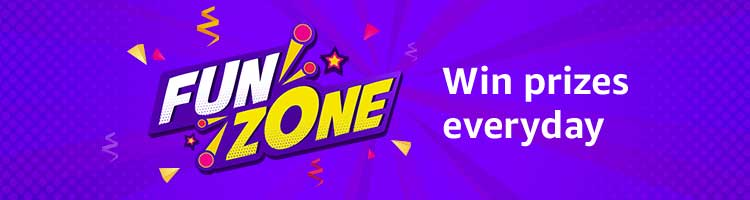 amazon quiz fun zone prizes