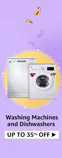 Washing machines and dishwasher