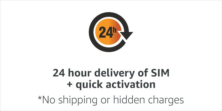 24 hour delivery of SIM