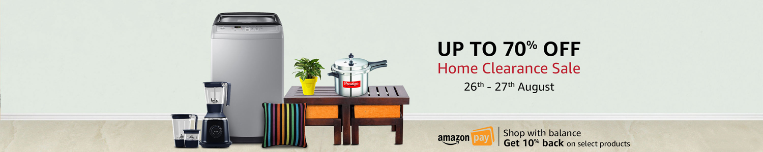 Home Clearance Sale : Up to 70% Off