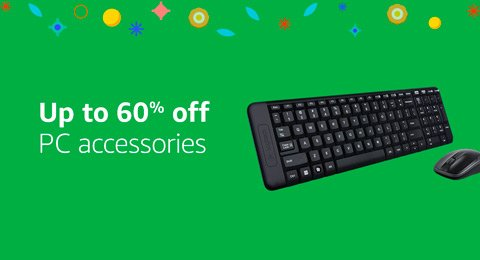 Up to 60% off accessories