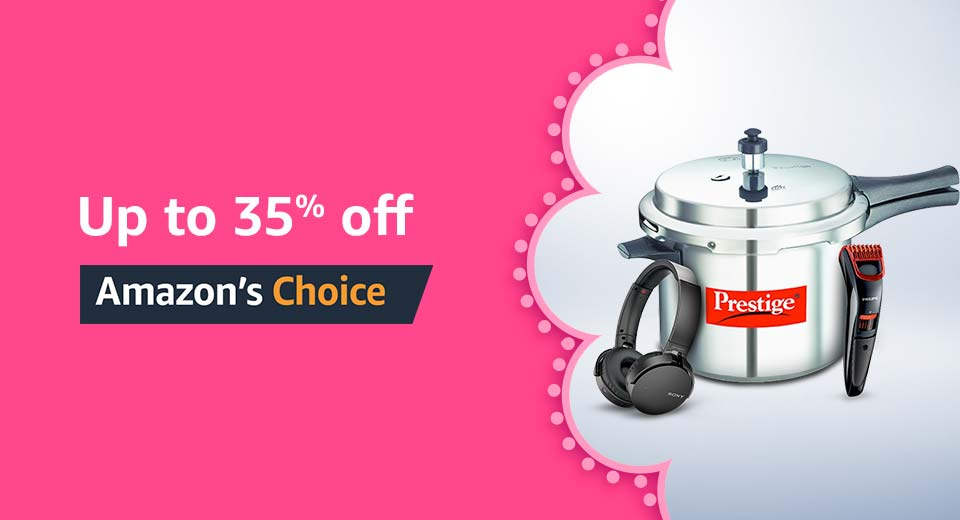 Up to 35% off Amazon's Choice