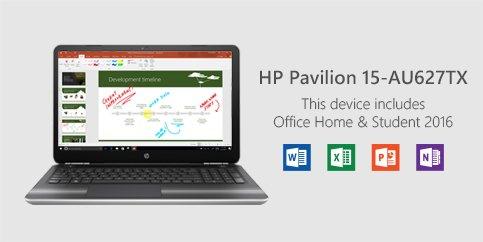 HP pavilion 15-au627tx