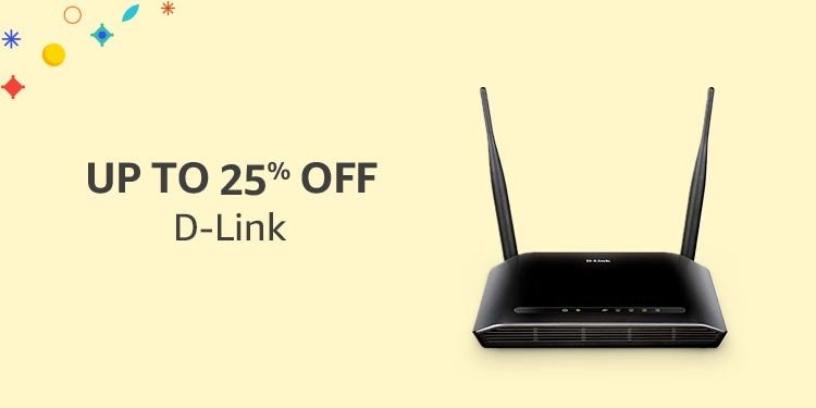 Up to 25% off D-Link
