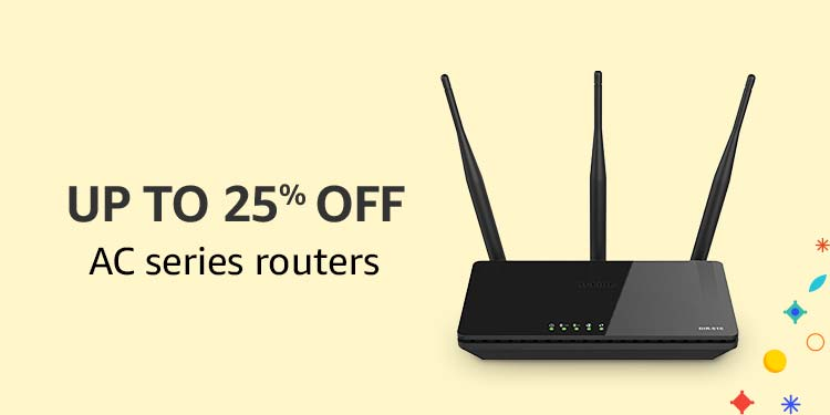 Up to 25% off AC Series Routers