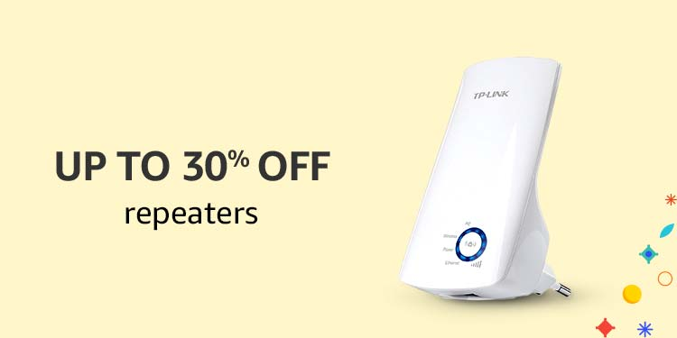 Up to 30% off Repeaters