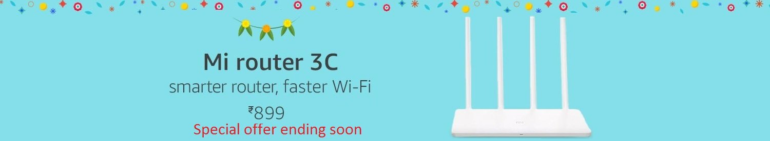 Mi router 3C smarter router, faster wifi