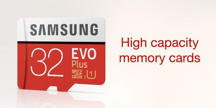 High Cap Memory Cards