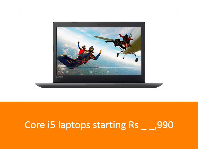 Core i5 laptops