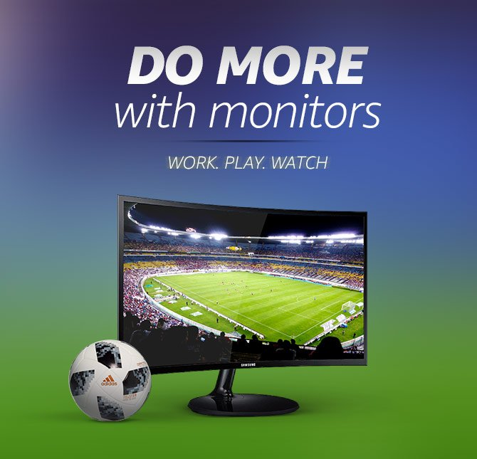 Do more with monitors