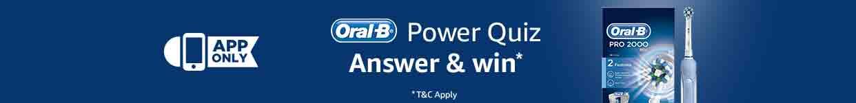 Oral B Power quiz