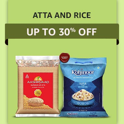 ATTA & RICE Up To 30% OFF