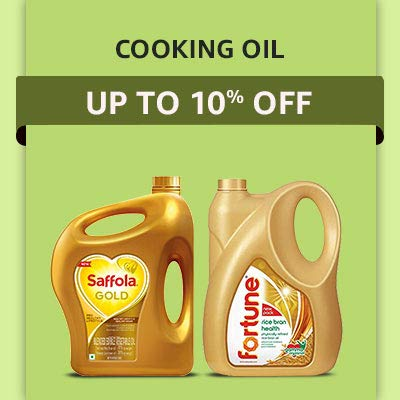 Cooking Oil Up to 10% OFF