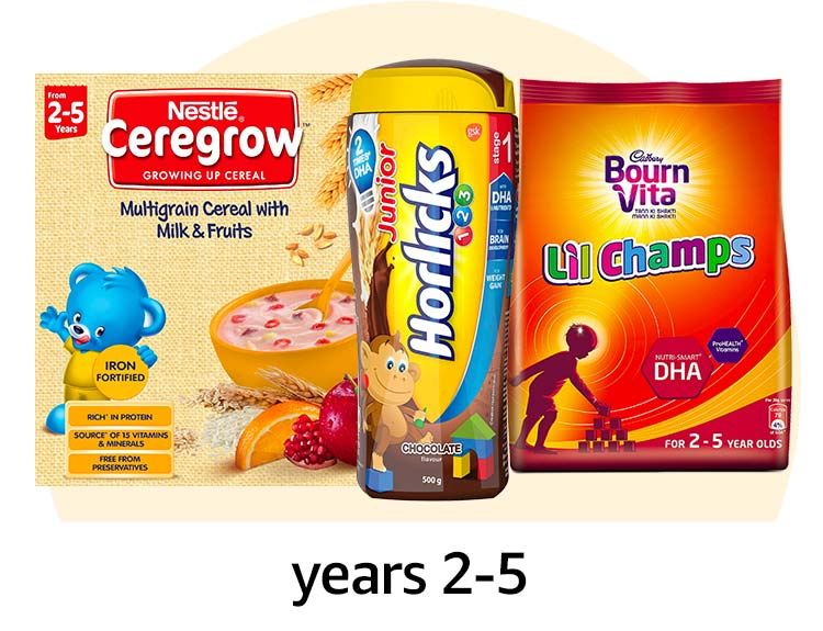 Food for baby years 2-5