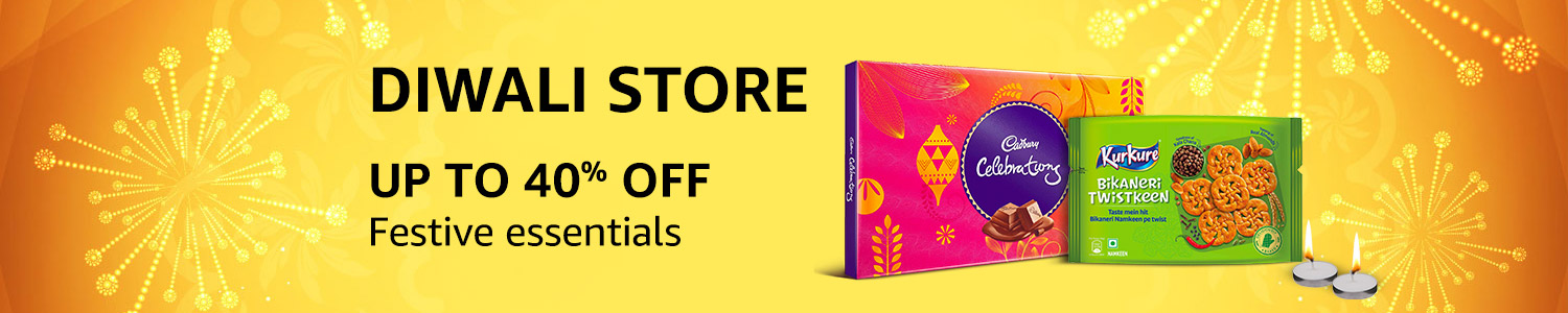 Amazon #Diwali Store now LIVE - 40% off on Festive Essentials