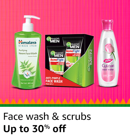 Face Wash and Scrubs