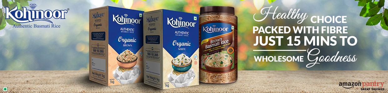 Kohinoor Brown rice