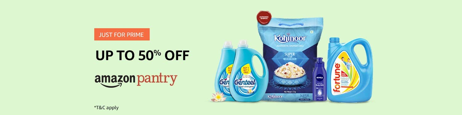 Prime deals in Amazon Pantry