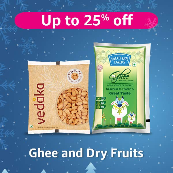 Ghee and Dry Fruits
