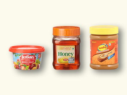 Jams, Spreads & Honey