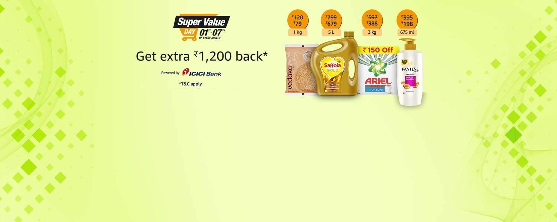 Super Value Day offer