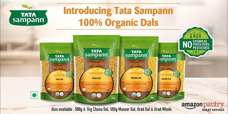Tata Sampann Organic Dals