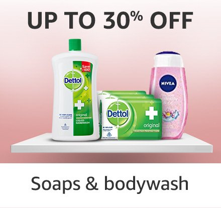 Soaps and bodywash