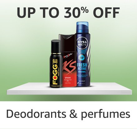 Deodrant and perfumes