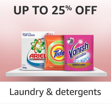 Laundry and detergents