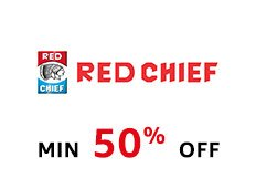 Red Chief: Min 50% off