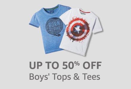 Boy's Tops & Tees
