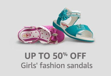 Girl's fashion sandals