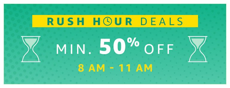 Rush hour deals