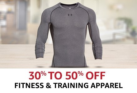 Fitness and training apparel