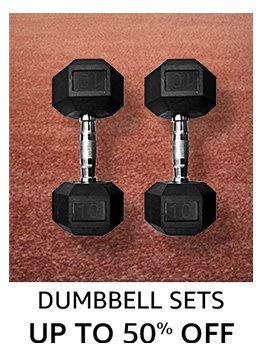 Dumbbell sets Up to 50% off