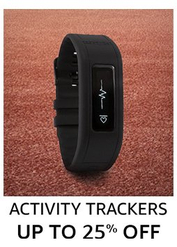 Activity tracker up to 25% off