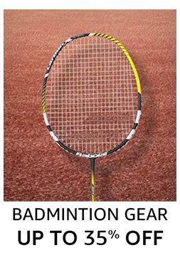 Badminton: Up to 35% off