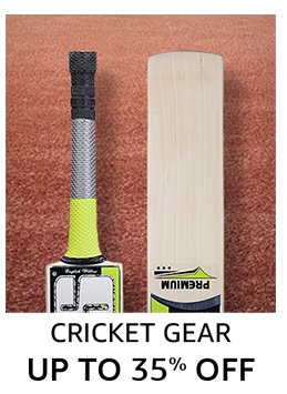 Cricket: up to 40% off