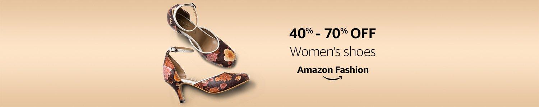 40% - 70% off women's shoes