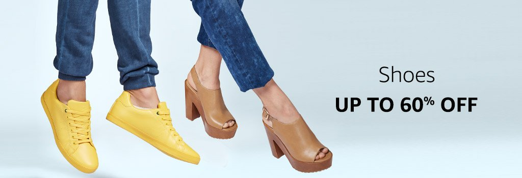 Shoes : Up to 60% off