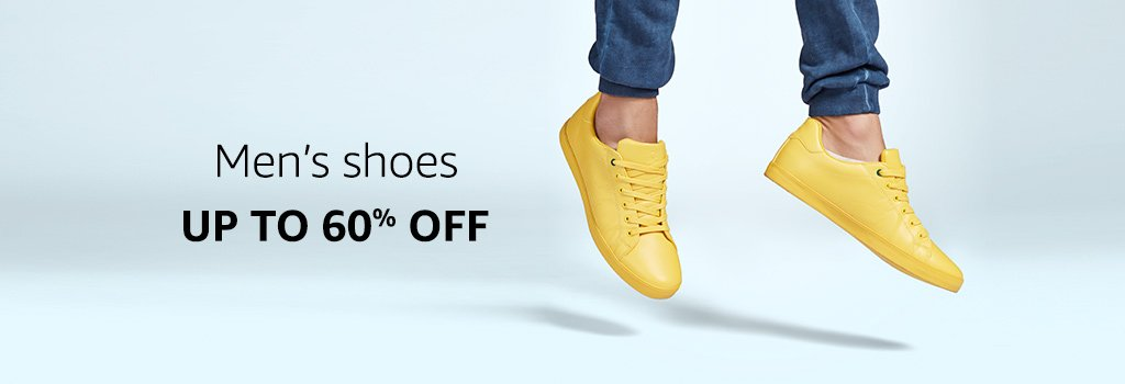 Men's Shoes: Up to 60% off